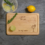 Gin Chopping Board