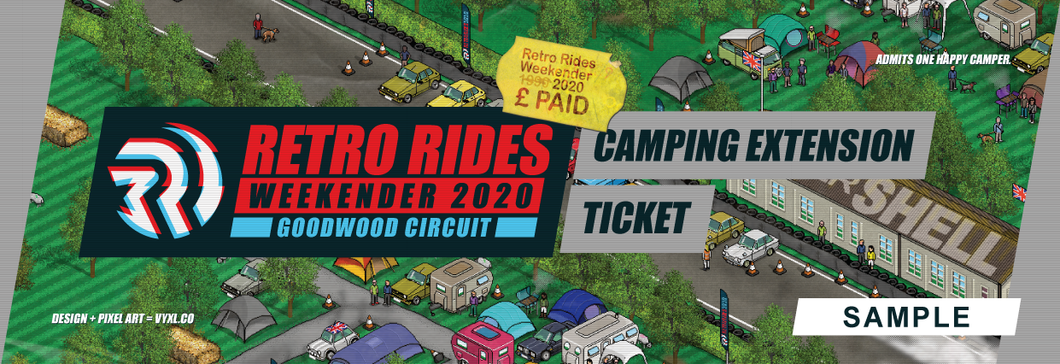 Retro Rides Weekender at Goodwood : Camping Extension (Sunday Night)