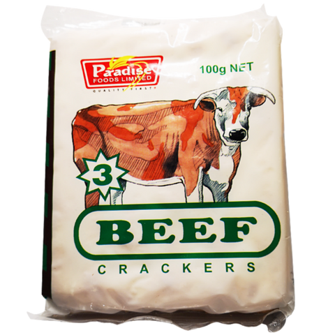 Beef Crackers – Paradise Foods 6 Pack