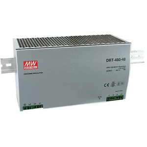DRT-480-24 Out 24V/0-20A - MEANWELL POWER SUPPLY