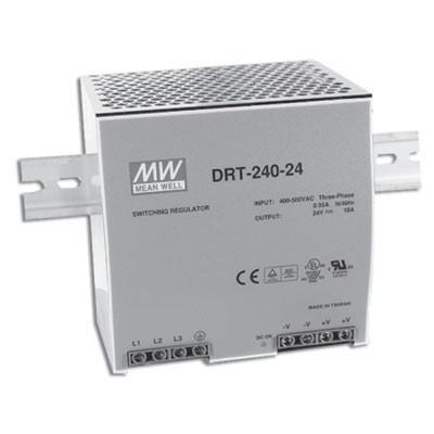 DRT-240-48 Out 48V/0-5A - MEANWELL POWER SUPPLY