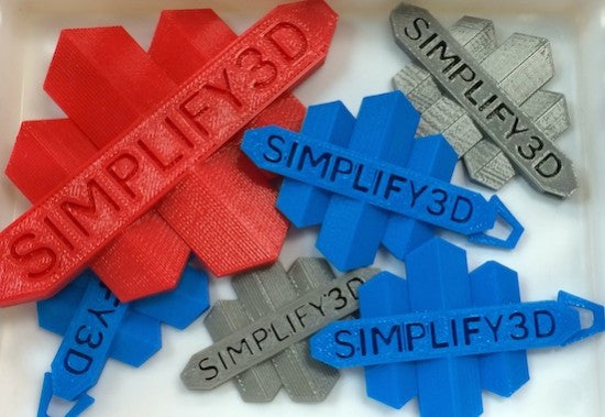 Simplify3D 3D Printing Software Suite