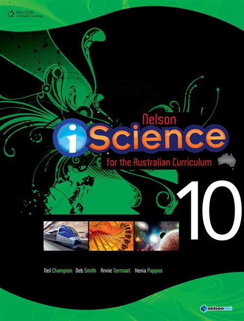Nelson iScience for the Australian Curriculum Year 10 (Student Book  with 4 Access Codes) | Zookal Textbooks | Zookal Textbooks