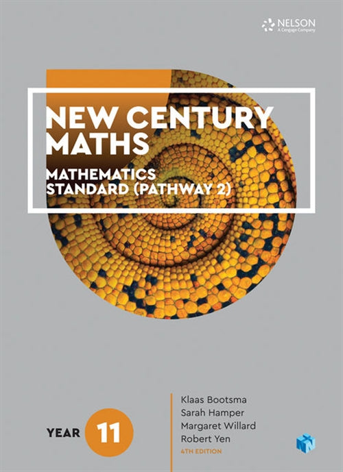 New Century Maths 11 Mathematics Standard (Pathway 2) Student Book with  4 Access Codes | Zookal Textbooks | Zookal Textbooks