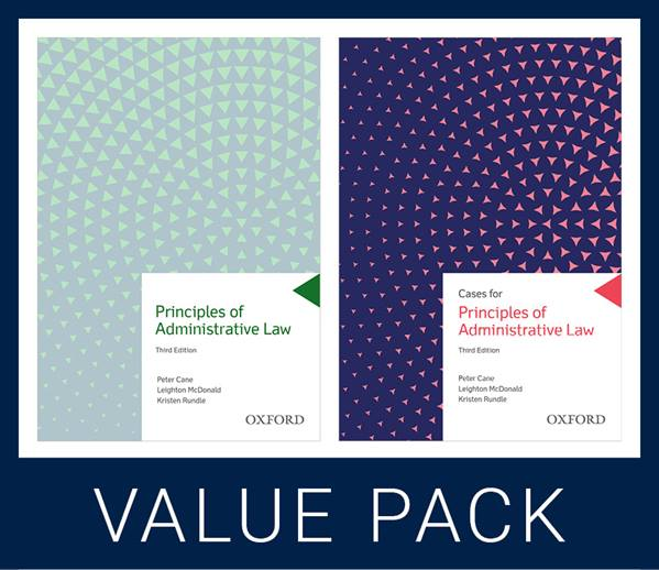 Principles of Administrative Law Value Pack | Zookal Textbooks | Zookal Textbooks