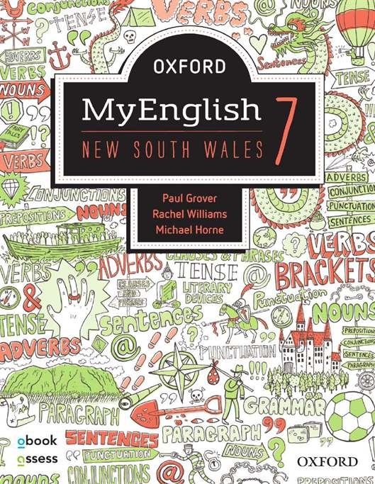 Oxford MyEnglish 7 NSW Student book + obook assess | Zookal Textbooks | Zookal Textbooks
