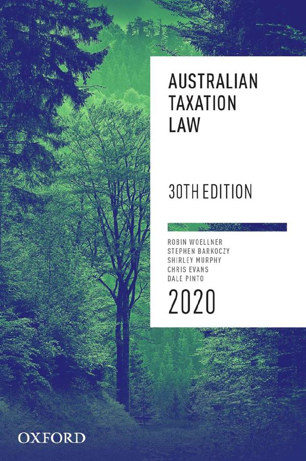 Australian Taxation Law 2020 | Zookal Textbooks | Zookal Textbooks