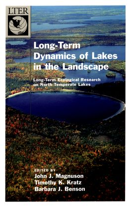 Dynamics of Lakes in the Landscape | Zookal Textbooks | Zookal Textbooks
