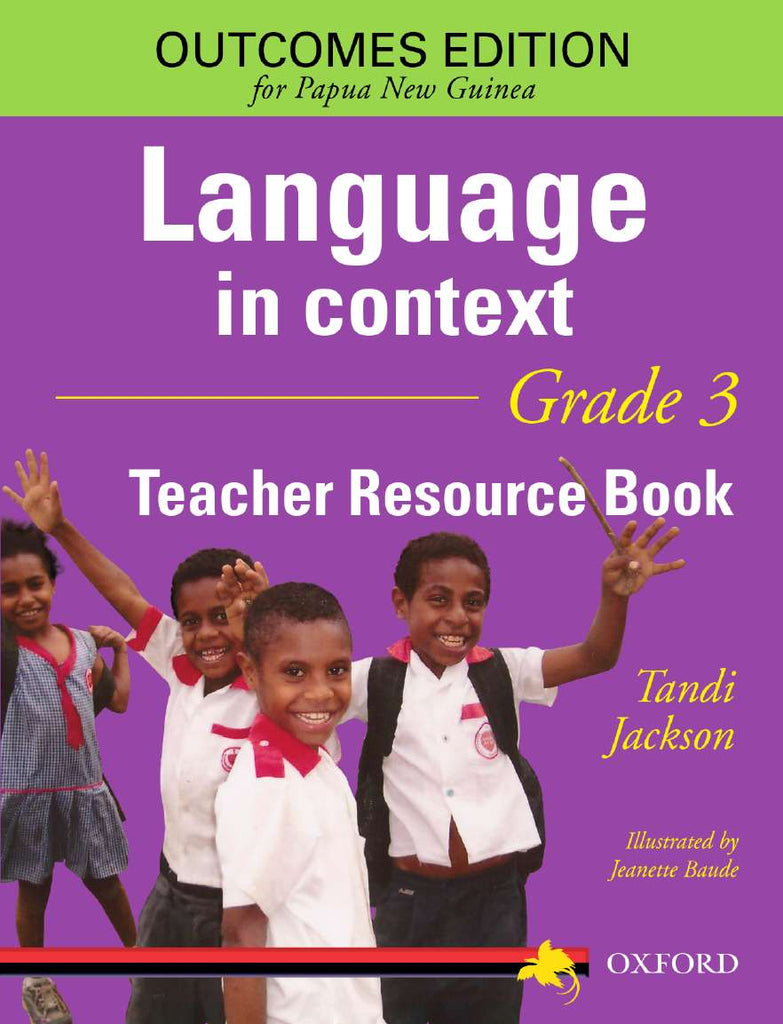 Papua New Guinea Language In Context Grade 3 Teacher Resource Book | Zookal Textbooks | Zookal Textbooks