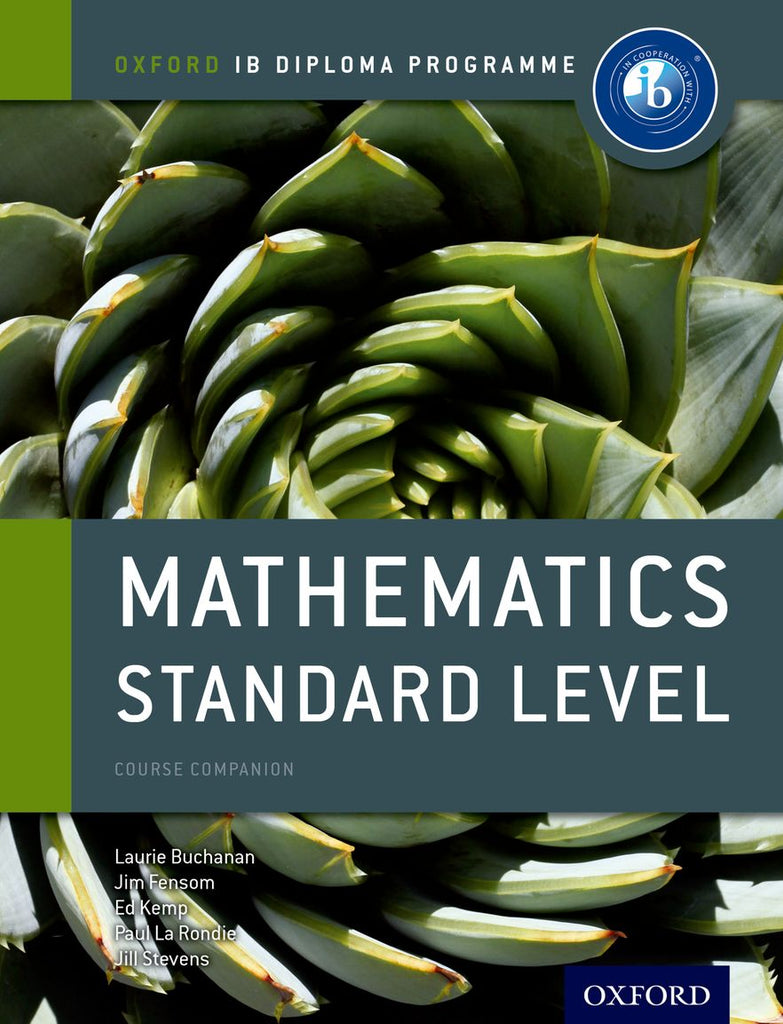 IB Course Book: Mathematics Standard Level | Zookal Textbooks | Zookal Textbooks
