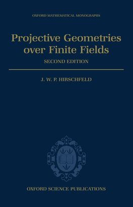 Projective Geometries over Finite Fields | Zookal Textbooks | Zookal Textbooks