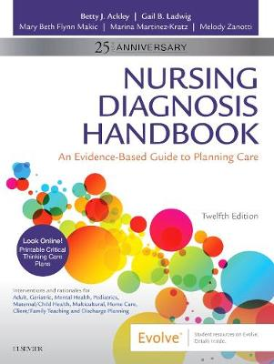 Nursing Diagnosis Handbook: An Evidence-Based Guide to Planning Care | Zookal Textbooks | Zookal Textbooks