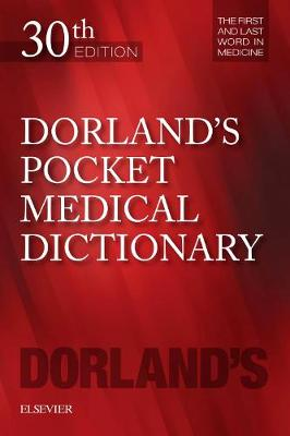 Dorland's Pocket Medical Dictionary | Zookal Textbooks | Zookal Textbooks