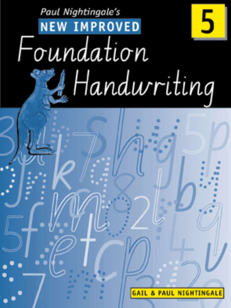 New Improved Foundation Handwriting NSW Year 5 | Zookal Textbooks | Zookal Textbooks