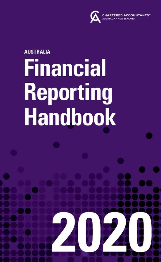 Financial Reporting Handbook 2020 Australia | Zookal Textbooks | Zookal Textbooks