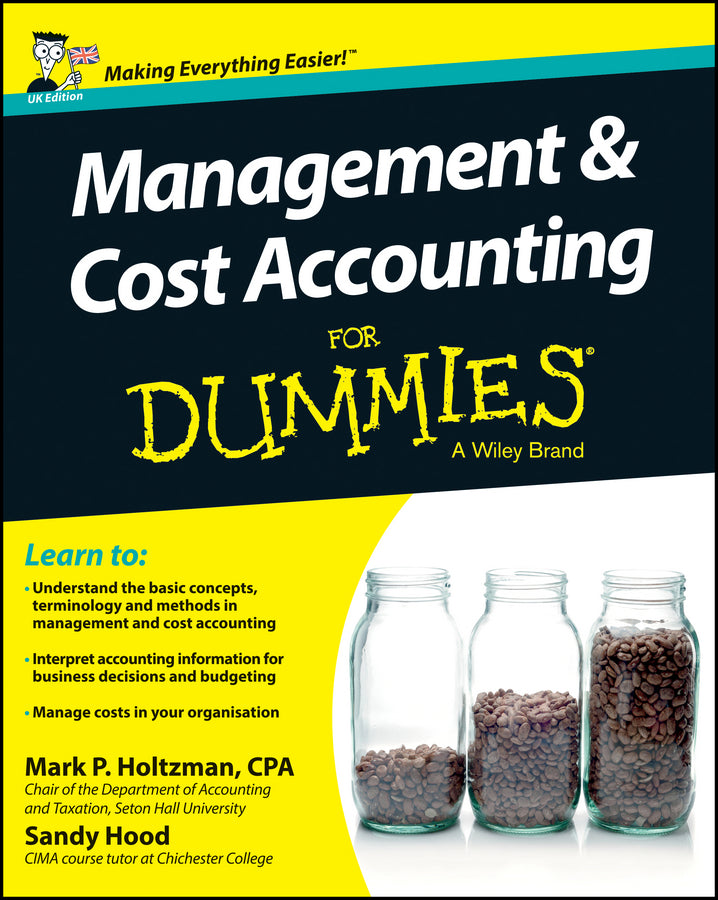 Management and Cost Accounting For Dummies - UK | Zookal Textbooks | Zookal Textbooks