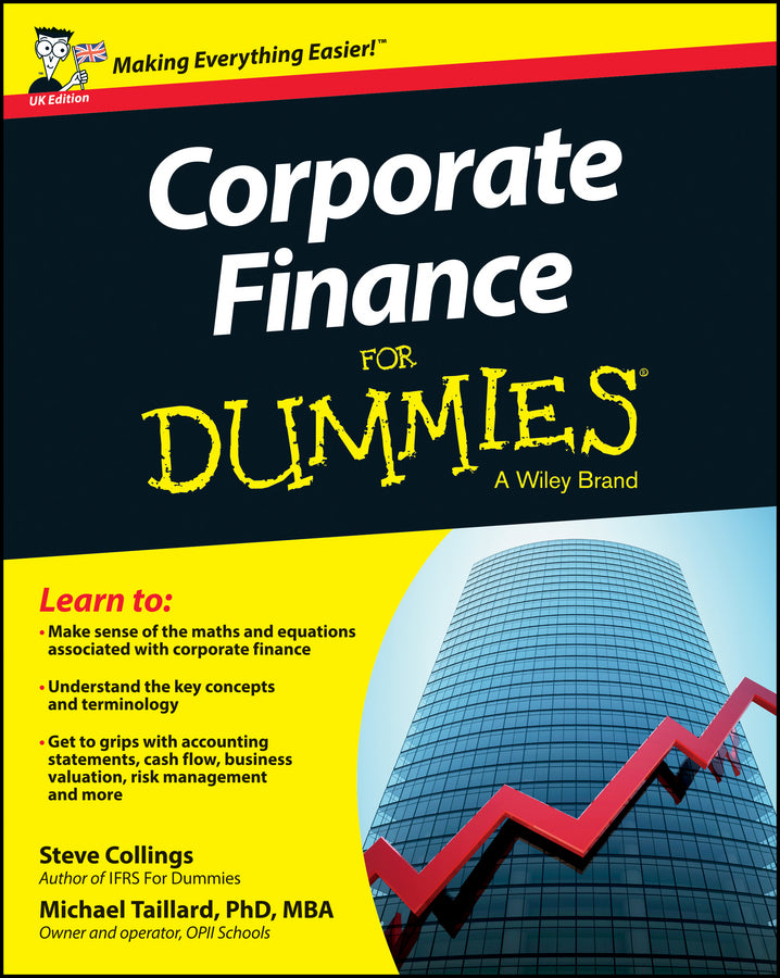 Corporate Finance For Dummies - UK | Zookal Textbooks | Zookal Textbooks