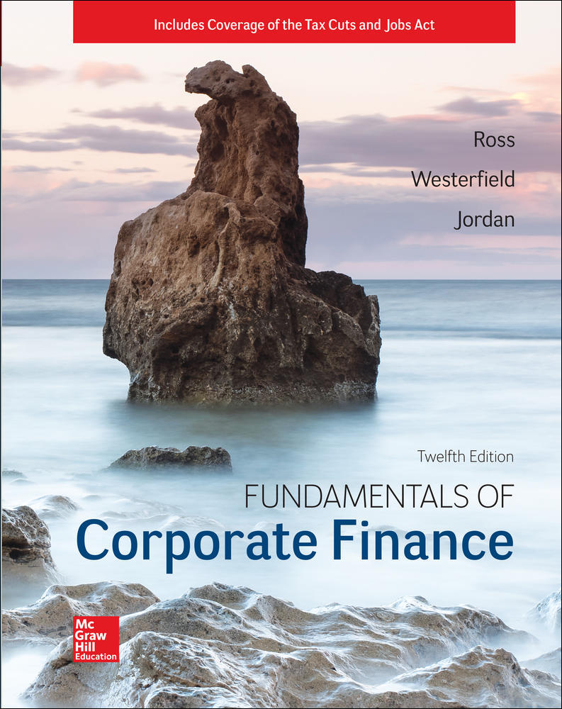 ISE Fundamentals of Corporate Finance | Zookal Textbooks | Zookal Textbooks