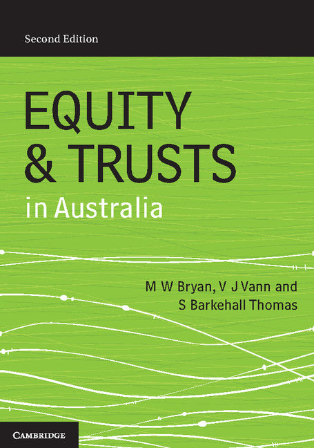 Equity and Trusts in Australia   | Zookal Textbooks | Zookal Textbooks