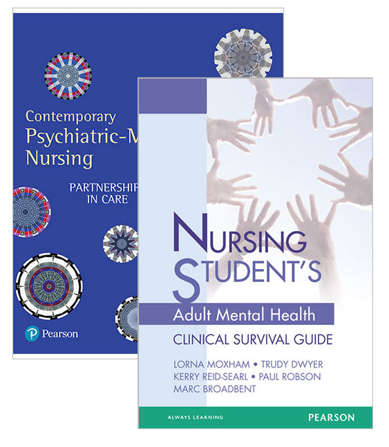 Contemporary Psychiatric-Mental Health Nursing: Partnerships in Care + Nursing Student's Adult Mental Health Survival Guide | Zookal Textbooks | Zookal Textbooks