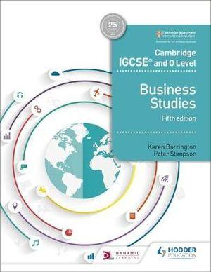 Cambridge IGCSE and O Level Business Studies Textbook, 5th Edition | Zookal Textbooks | Zookal Textbooks