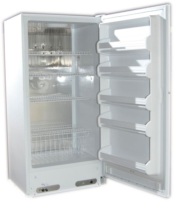 Crystal Cold CC17R Propane Refrigerator White