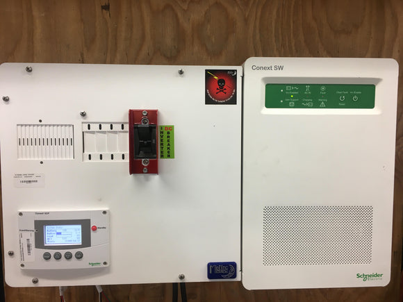 Schneider Conext 4048_24 Inverter with E-Panel and SCP