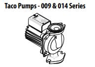 Central Boiler Taco Pumps - 009 Series