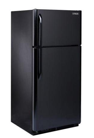 Unique 22 Cubic Foot Elite Propane Fridge Black