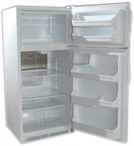 Crystal Cold CC19 Propane Refrigerator White