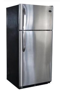 Diamond Elite 19 Cubic Foot Refrigerator Stainless