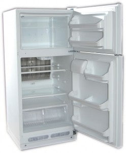 Crystal Cold CC15 Propane Refrigerator White