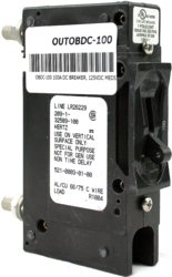 Outback Power - Circuit Breaker 100 AMP - 125VDC