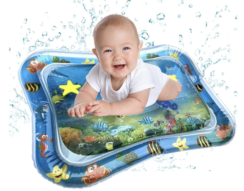 2x Inflatable Water Mat for Tummy Time