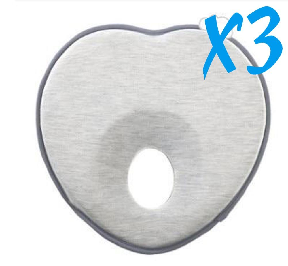 3x Baby Flat Head Pillow for Flat Head Syndrome