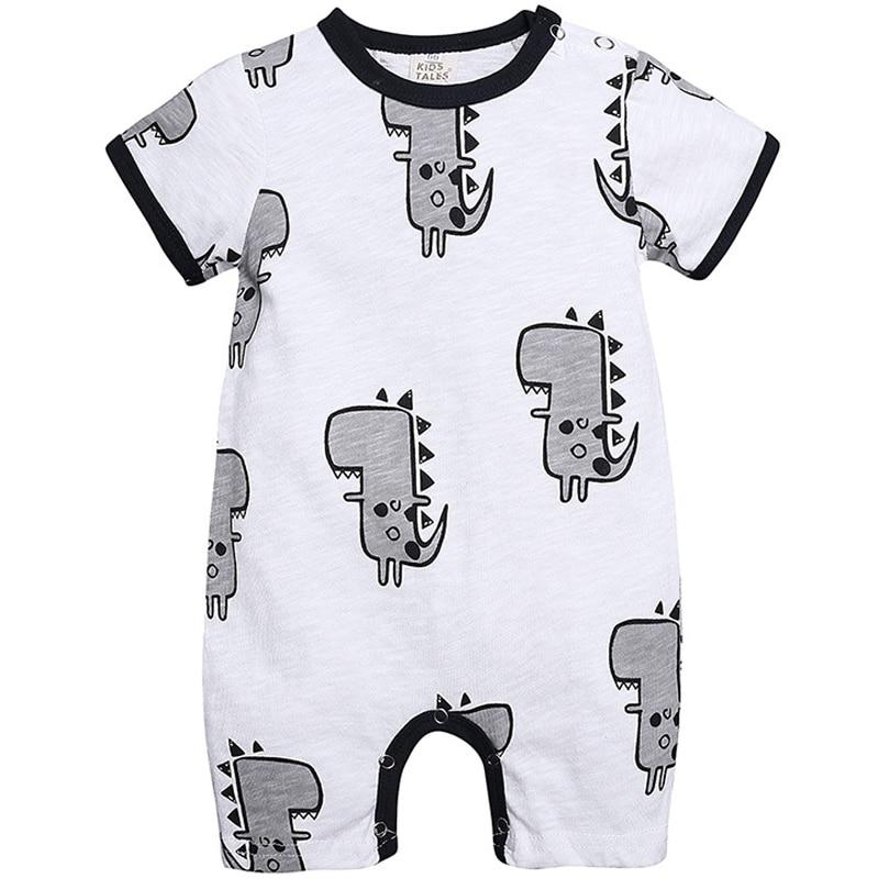 Dinosaur Baby Onesie Short Sleeve for Summer