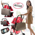 Foldable Portable Bed Tote - 3pcs Baby Diaper Bag