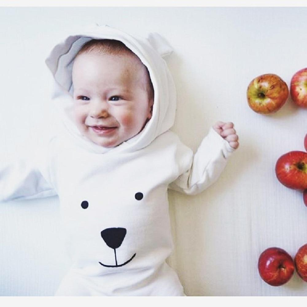 Infant Hooded Jumpsuit - Unisex