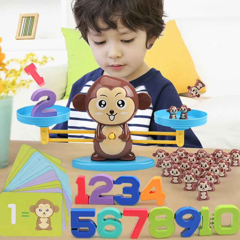 Monkey Digital Balance Scale Toy - Math & Science Toy