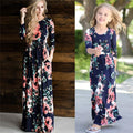 Beauty Flower Maxi Dress