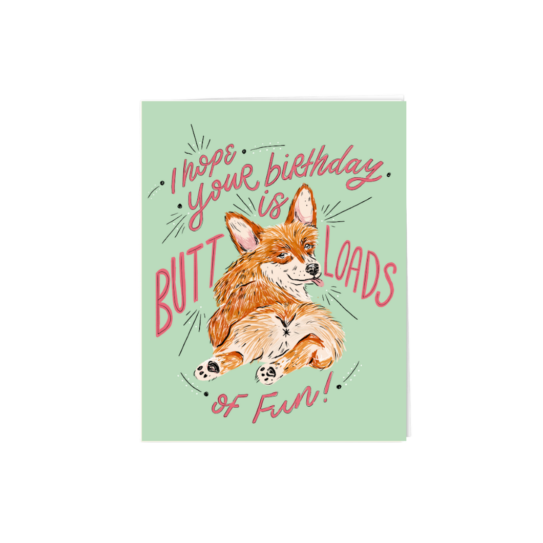Butt-loads of fun corgi birthday