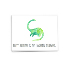 Load image into Gallery viewer, Herbivore Birthday
