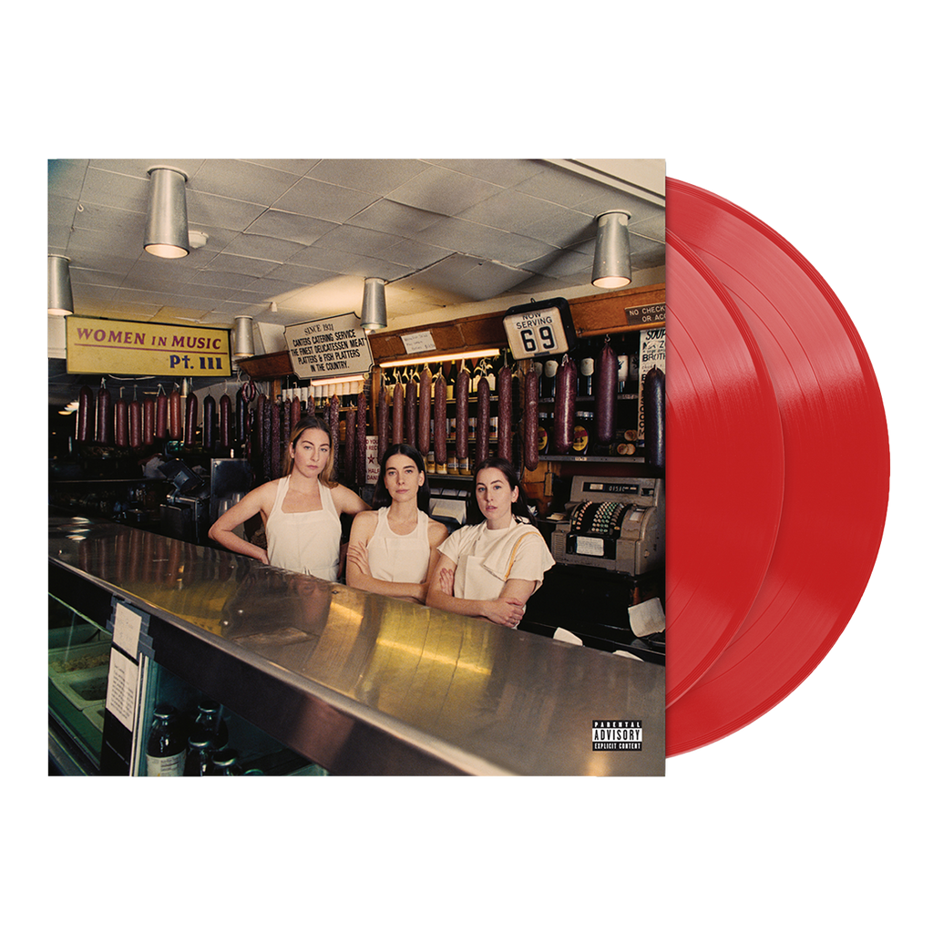 Women in Music Pt. III Red Opaque Vinyl