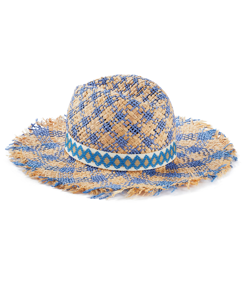 Blue Jazzy Hat