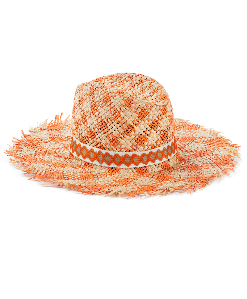 Orange Jazzy Hat