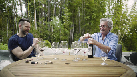 2005 Pursued by Bear Cabernet Sauvignon, Kyle MacLachlan and Joel McHale on SOMM TV
