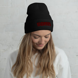 Cuffed Beanie - Embroidered SOMM Logo
