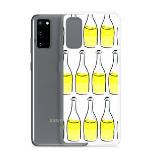 White Wine Artwork - Samsung Case