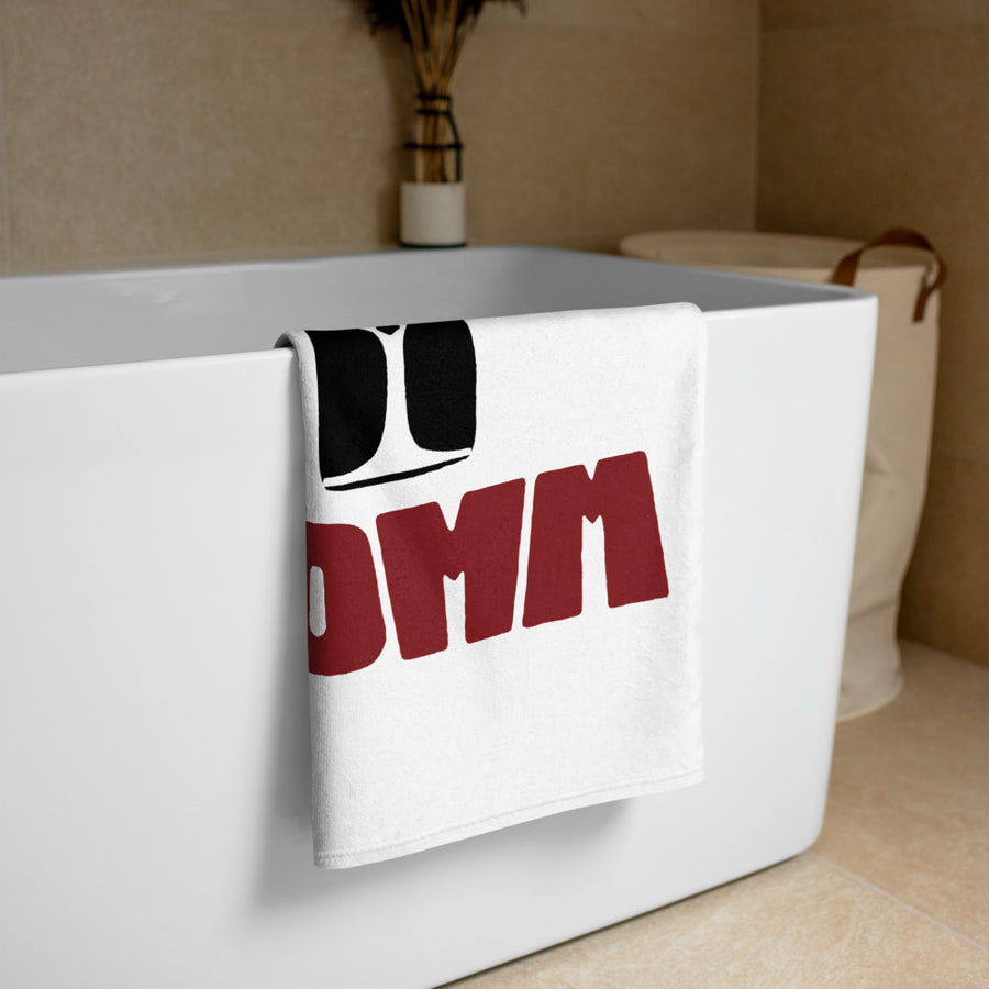 Beach Towel - SOMM Logo