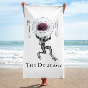Beach Towel - The Delicacy